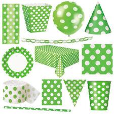 Articoli verde senza marca battesimo per feste e occasioni speciali