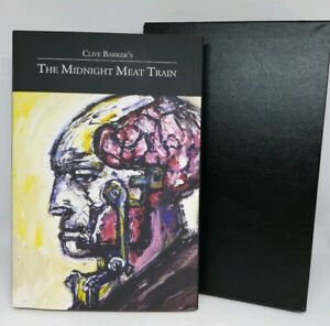 Clive Barker The Midnight Meat Train Signed Special Definitive Limited Edition
