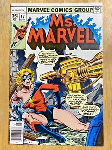 MS. MARVEL #17 2ND CAMEO APP MYSTIQUE APPROX 7.5  COMPLETE  INTACT KEY x men hot