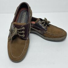 Sperry Top-Sider Brown Leather Men's Boat Shoes Size 8.5M