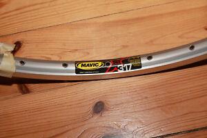 """MAVIC XM 317 Felge 26"""" 32 Loch silber MTB NEU"""
