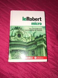 leRobert micro Copertina rigida monolingua Francese