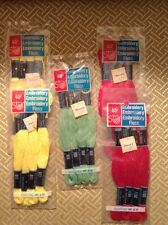 Vintage Star Embroidery Floss - Original Unopened Packages 5/lot