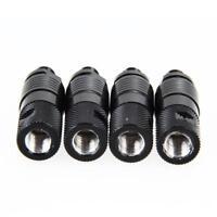 4x Quick Release Schnellwechseladapter Rod Black Adapter für Angel Bissanzeiger