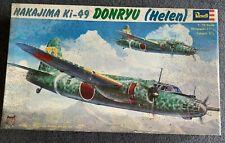 Revell Nakajima Ki-49 Donryu (Helen) - 1/72 Scale - Vintage 1973 Kit