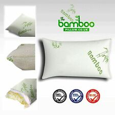 Ultra Soft Bamboo Pillow Memory Foam Anti - Bacterial Head Neck Back Support