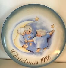 Schmid - Collector Series Plates - Christmas Tell The Heavens 1986