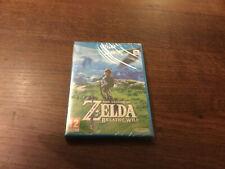 Zelda breath of the wild wii u neuf sous blister