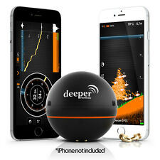 Deeper Smart Portable Fishfinder for Smartphone for iOS & Android - Brand New