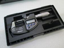 Mitutoyo 293 335 Digital Outside Micrometer Inchmetric 0 1 00005 0001mm
