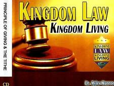 Kingdom Law Kingdom Living - Principle of Giving & the Tithe by Myles Munroe