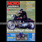 MOTO JOURNAL N°1169 HARLEY FXSTSB 1340 BAD BOY, MICKAEL PICHON, KAWASAKI KLR 650