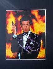 Pierce Brosnan - James Bond - Signed Photo mounted with COA