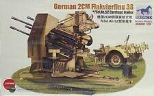 Bronco 1/35 German 2CM Flakvierling 38 Flak Gun 35057