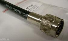RFC Model 62-9940 Crimp/Crimp Type N Male for Belden 8214 9913 RFC-400 LMR-400