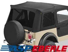 87-90 Roll BAR imbottitura Nero Bestop Jeep Wrangler YJ Bj