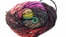 Noro Silk Garden #211 Black/Green/Burgundy/Blue