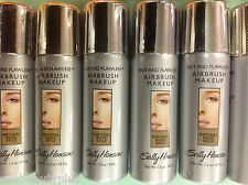 10 X Sally Hansen Fast and Flawless Airbrush Foundation Natural Beige Spice NEW.