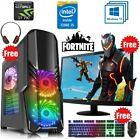 PC Gamer Fixe Ordinateur Gaming Intel QuadCore i5 HDD 1To Win10 Nvidia GT710 2Go