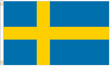 More details for sweden polyester flag - choice of sizes