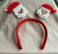 Christmas & Holiday Santa Claus Head Band