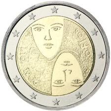 manueduc  2 EUROS FINLANDIA 2006 CONMEMORATIVOS  SUFRAGIO UNIVERSAL RARA  NUEVA