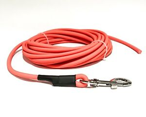 Dog & Field™ 10 Meter Biothane Round Training Lead/Tracking Line For Pet Recall