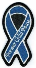 PREVENT CHILD ABUSE AWARENESS PATCH, Awareness Patches, Biker Patches