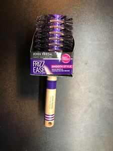 JOHN FRIEDA FRIZZ EASE SMOOTH STYLE BOAR BRISTLE VENTED ROUND BRUSH