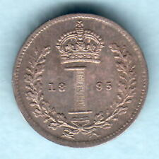 New listing Great Britain. 1895 - Silver Maundy Penny. Unc