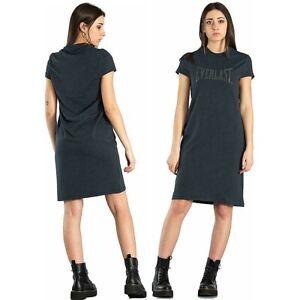 Abito donna EVERLAST abitino estivo jersey e modal stampa 3D vestito mare casual