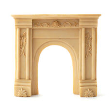 Dolls House Beige Resin Fire Surround : 12th scale Fireplace