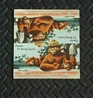 1958 SMOKEY The BEAR Cardstock standee Unfolded Virginia Division of Forestry