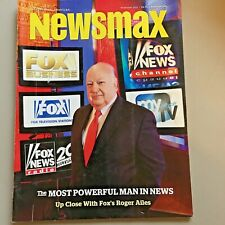 2 NewsMax Magazines Nov2011and Feb2018 Fox Roger Ailes & NKorea Nuclear