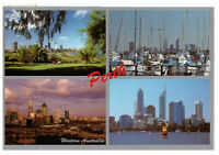 Perth, Western Australia, Rare Multiview Postcard Posted 15th November 1993