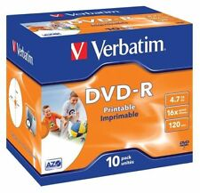 CD, DVD et Blu-ray Verbatim 16x