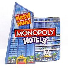 Monopoly Hotels Edition Board Game Hasbro 2+ Players Ages 8+ New