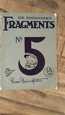 THE BYSTANDER'S FRAGMENTS FROM FRANCE No. 5 by Bruce Bairnsfather 1918