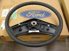 NOS Ford Big Truck Steering Wheel Black Padded 1994 1995 1996 1997 1998 1999