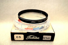 Toshiba 55 mm NEW CS (Cross Screen)  Screw-In Filter with Case/Box Japan (M134)