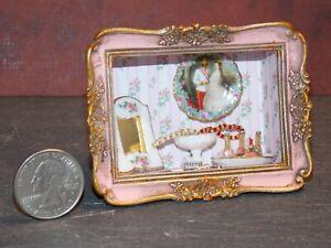 Dollhouse Miniature Reutter Porcelain Boudoir Frame 1:12 G93 G94 Dollys Gallery