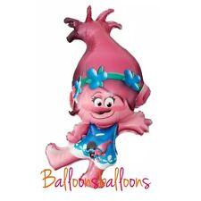 "Princess Poppy 40"" helium balloon birthday party Trolls"