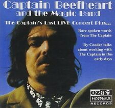Captain Beefheart - Last Live Concert Plus (NEW CD)