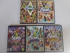 SIMS 3: w/ FOUR expansion packs. All for PC