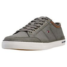 Tommy Hilfiger Core Material Mix Sneaker Uomo Olive Scarpe da Ginnastica - 44 EU