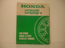HONDA VF500F  MANUEL ATELIER WORKSHOP MANUAL DE TALLER