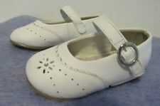 Stride Rite Camila Mary Jane (Toddler) White Leather Size 4.5 W US Toddler NWOB