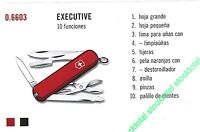 NAVAJA VICTORINOX EXECUTIVE 10 FUNCIONES 06603 0.6603