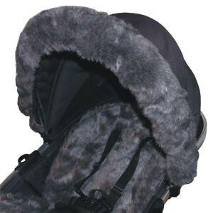 Fur Hood Trims - fit iCandy, Silver Cross, Bugaboo etc