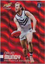 2020 Footy Stars Prestige Red Parallel (63) David MUNDY Fremantle 002/170